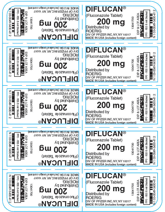 Principal Display Panel - 200 mg Tablet Blister Pack