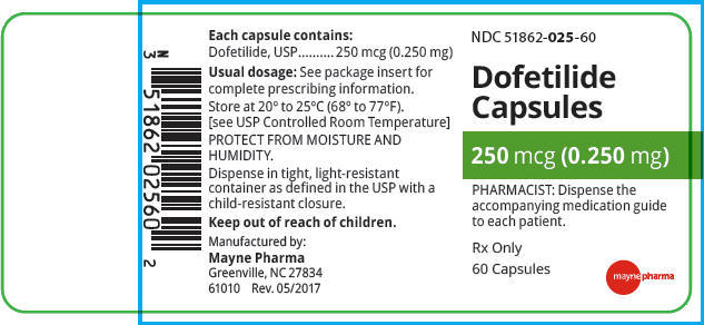 PRINCIPAL DISPLAY PANEL - 0.250 mg Capsule Bottle Label
