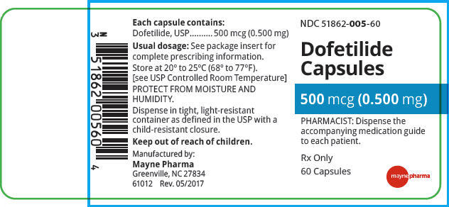 PRINCIPAL DISPLAY PANEL - 0.500 mg Capsule Bottle Label