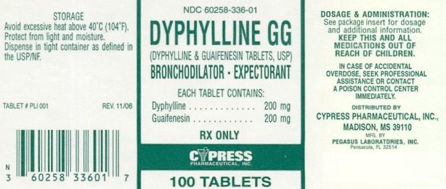 Dyphylline Gg | Dyphylline And Guaifenesin Tablet Breastfeeding