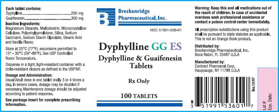 Dyphylline Gg Es   Dyphylline And Guaifenesin Tablet Breastfeeding