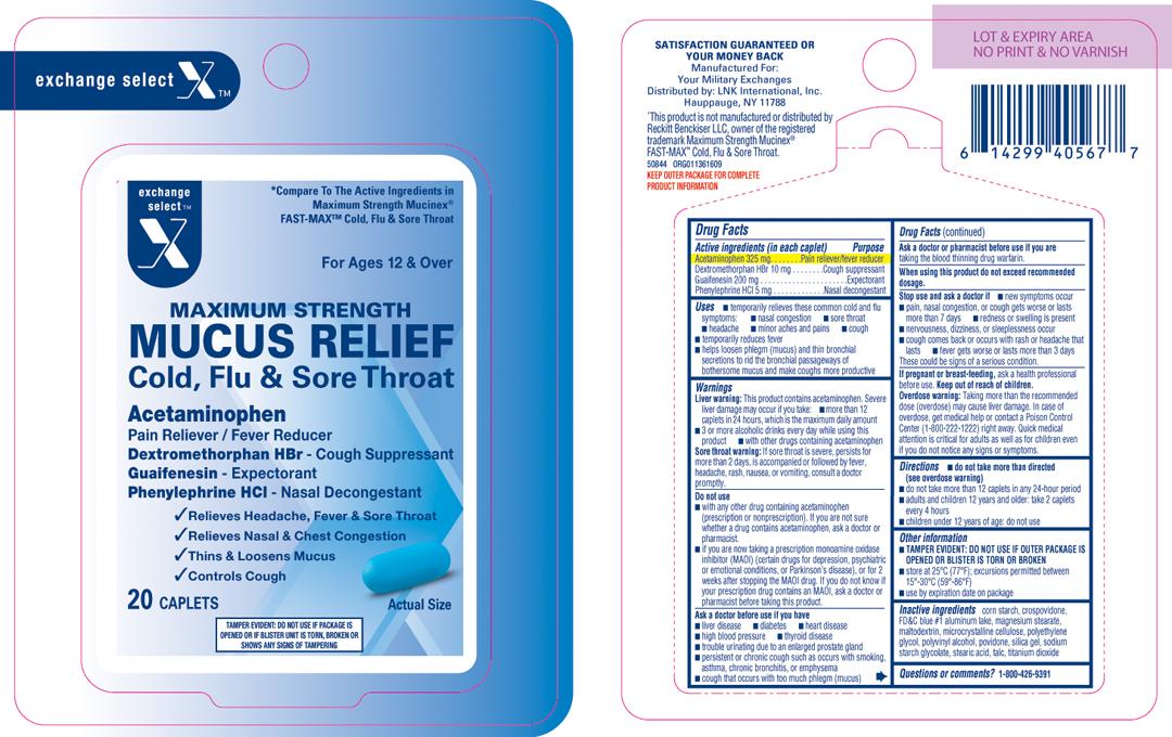 Maximum Strength Mucus Relief Cold Flu And Sore Throat Breastfeeding