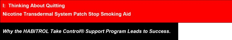 Nicotine Transdermal System | Nicotine Kit safe for breastfeeding