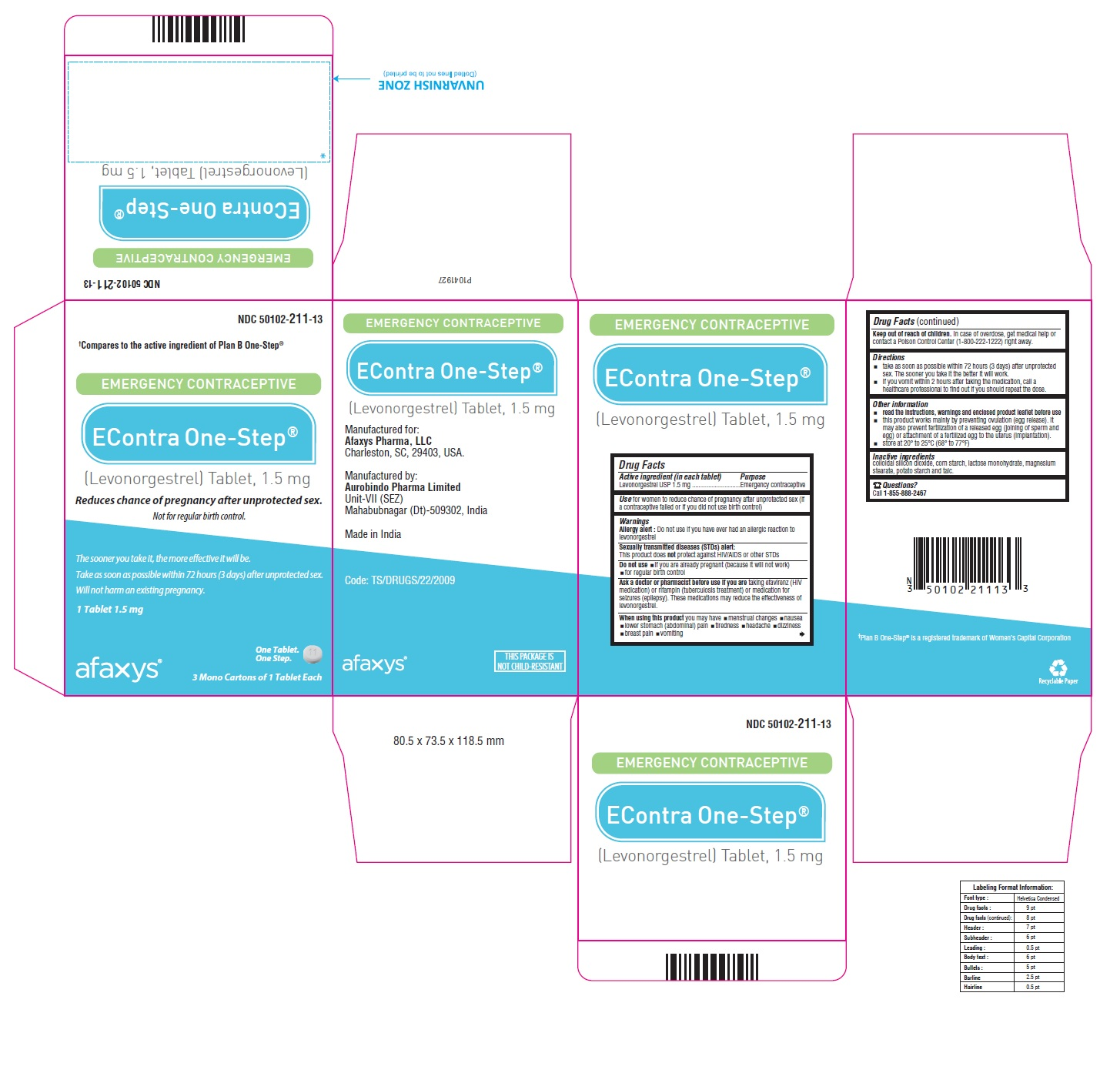 PACKAGE LABEL-PRINCIPAL DISPLAY PANEL - 1.5 mg (6 Blister Carton Label)