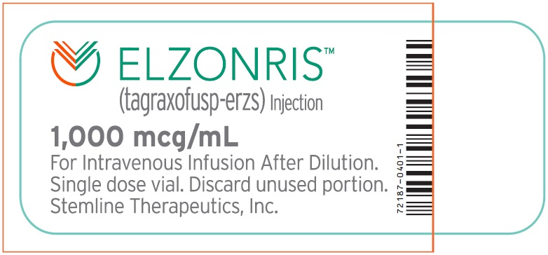 Rx Item-ELZONRIS tagraxofusp injection, solution 1000MCG/ML SDV PF BY STEMLINE P