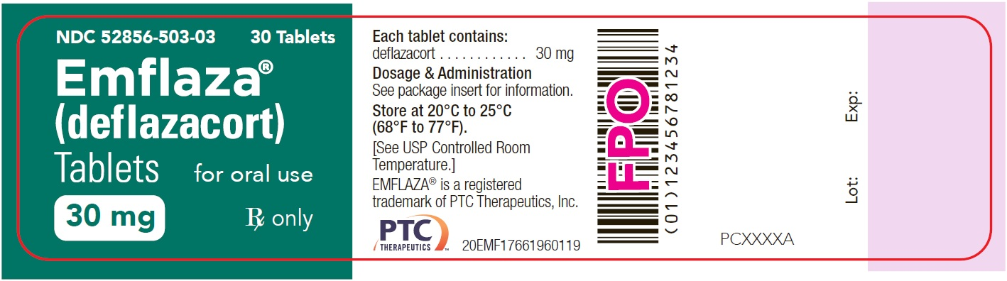 30 mg Tablet 30-Count Bottle Label