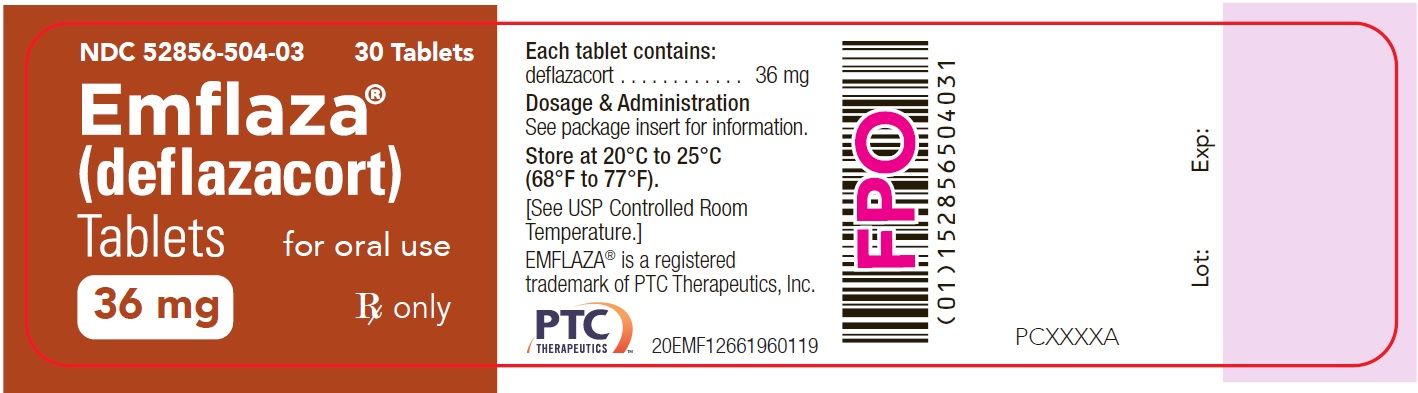 36 mg Tablet 30-Count Bottle Label