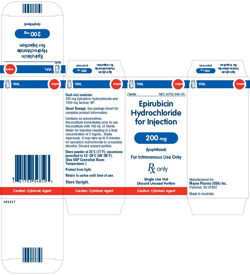 Epirubicin Hydrochloride Injection, Powder, Lyophilized, For Solution while Breastfeeding