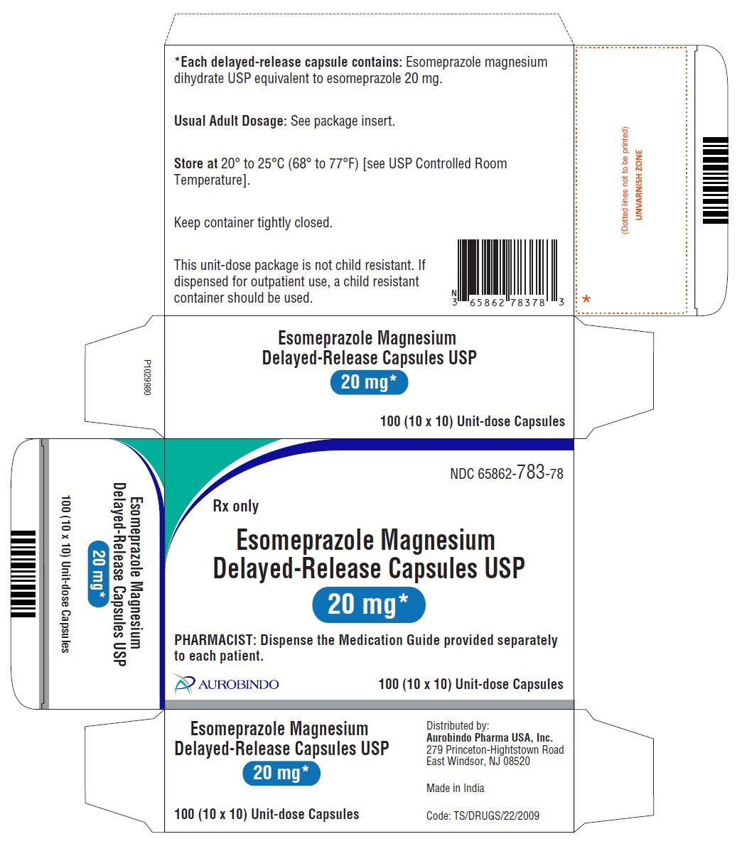 PACKAGE LABEL-PRINCIPAL DISPLAY PANEL - 20 mg (10 x 10) Unit-dose Capsules