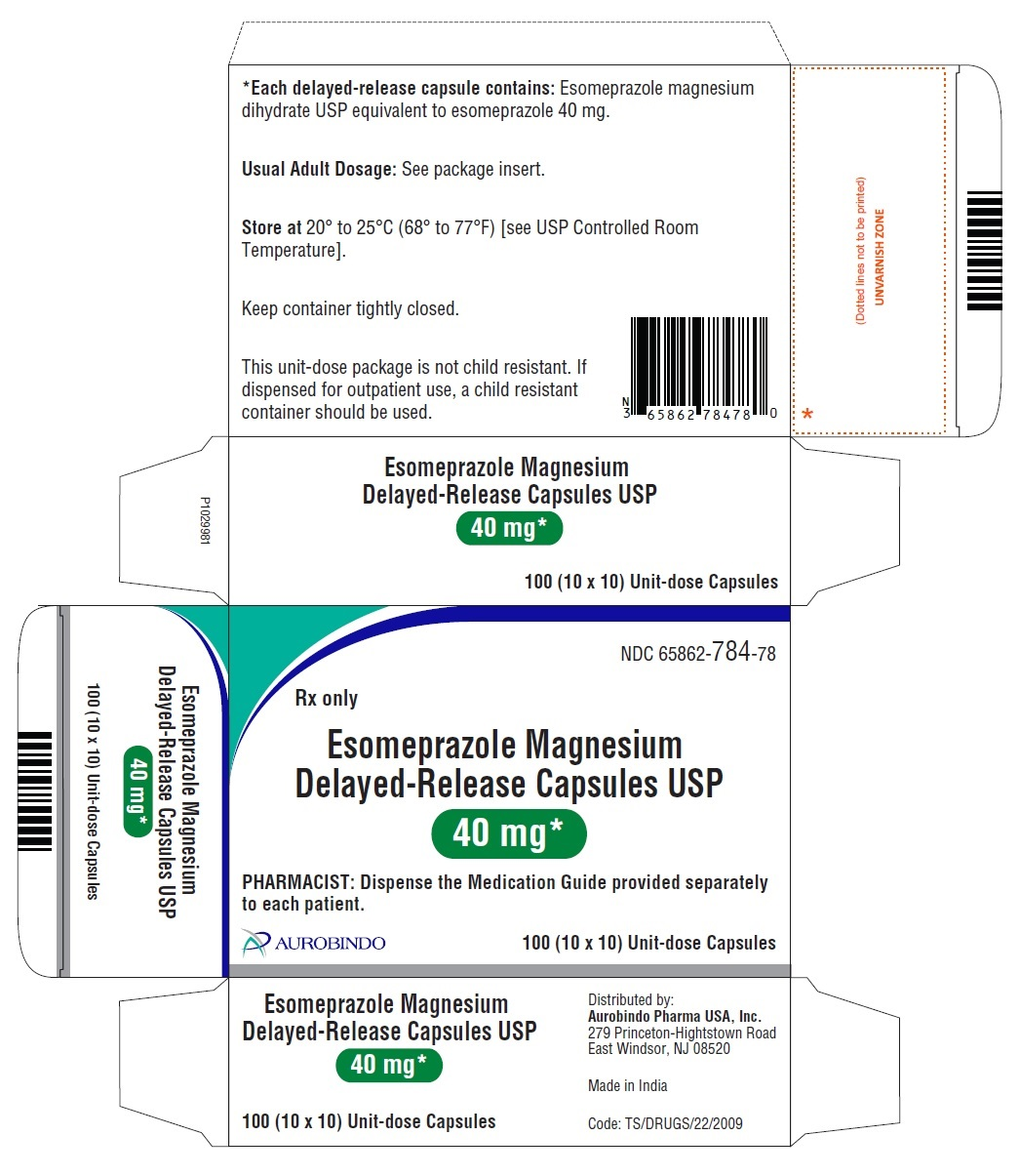 PACKAGE LABEL-PRINCIPAL DISPLAY PANEL - 40 mg (10 x 10) Unit-dose Capsules