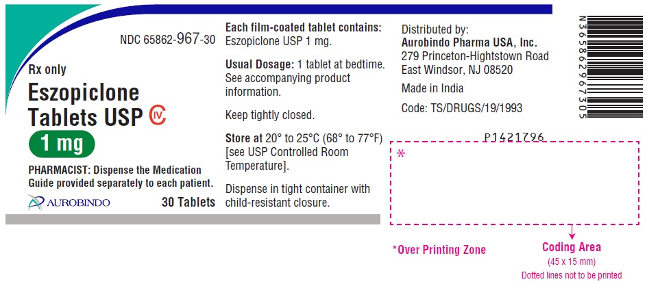 PACKAGE LABEL-PRINCIPAL DISPLAY PANEL -1 mg (30 Tablets Bottle)