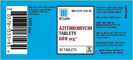 Is Azithromycin 600 Mg safe while breastfeeding