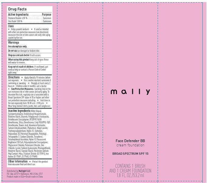 Mally Face Defender Foundation Bb 53.2 Ml   Mallygirl, Llc Breastfeeding