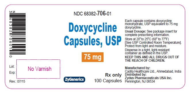 Doxycycline Capsules 75 mg