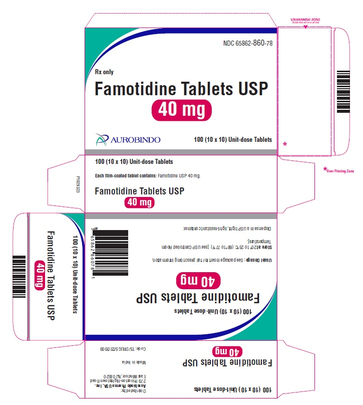 PACKAGE LABEL-PRINCIPAL DISPLAY PANEL - 40 mg (10 x 10) Unit-dose Tablets