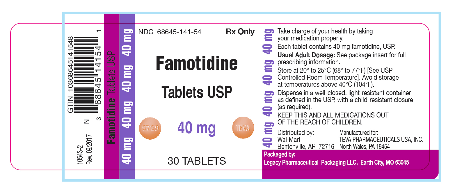 Famotidine Tablet USP 40 mg