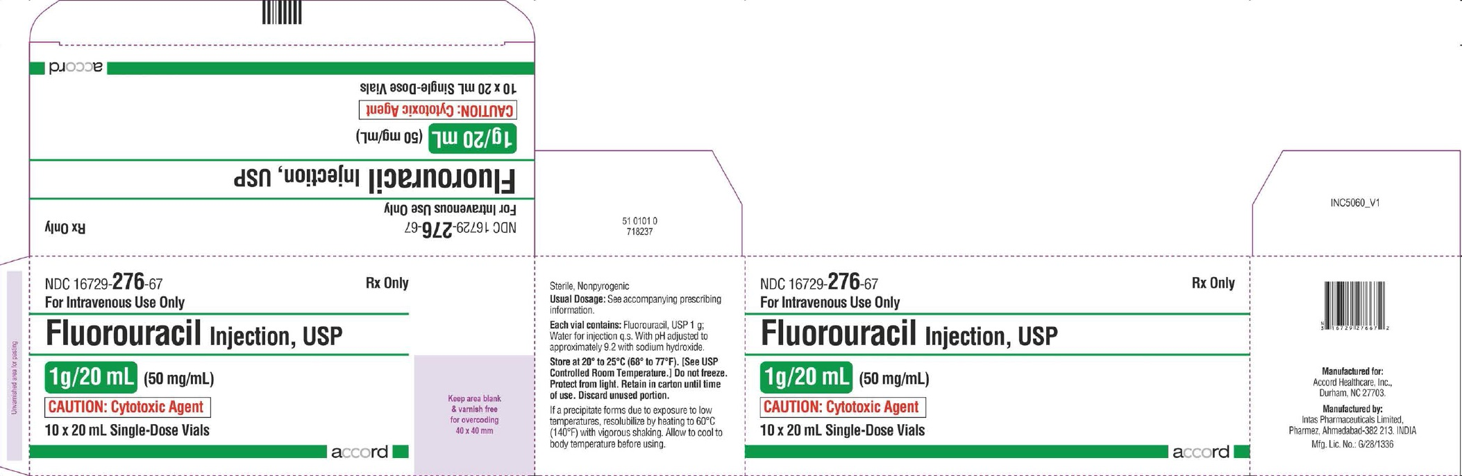 PRINCIPAL DISPLAY PANEL -1 g/20 mL Vial Carton