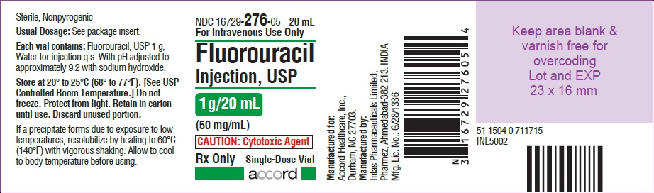 PRINCIPAL DISPLAY PANEL -1 g/20 mL Vial Label