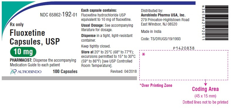 PACKAGE LABEL-PRINCIPAL DISPLAY PANEL - 10 mg (100 Capsules Bottle)