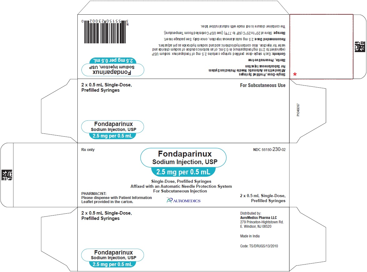 PACKAGE LABEL-PRINCIPAL DISPLAY PANEL - 2.5 mg per 0.5 mL - Prefilled Syringe-Carton (2 Syringes)
