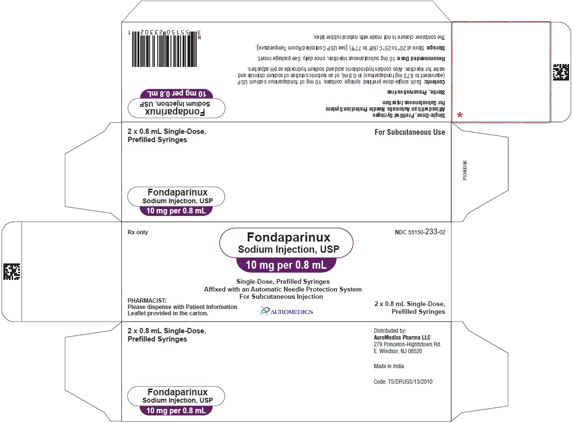 PACKAGE LABEL-PRINCIPAL DISPLAY PANEL - 10 mg per 0.8 mL - Prefilled Syringe-Carton (2 Syringes)