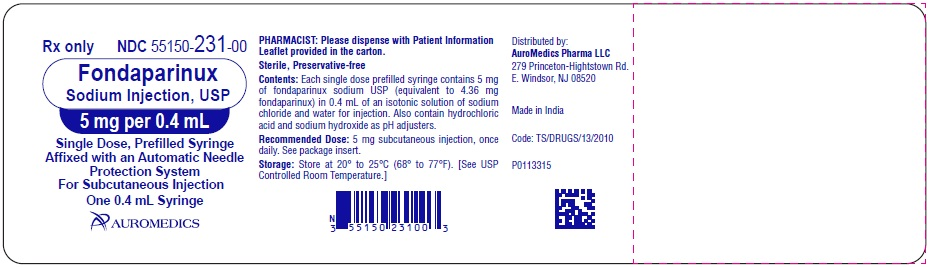PACKAGE LABEL-PRINCIPAL DISPLAY PANEL - 5 mg per 0.4 mL - Prefilled Syringe Blister Pack Label