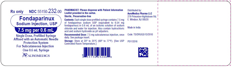 PACKAGE LABEL-PRINCIPAL DISPLAY PANEL – 7.5 mg per 0.6 mL - Prefilled Syringe Blister Pack Label