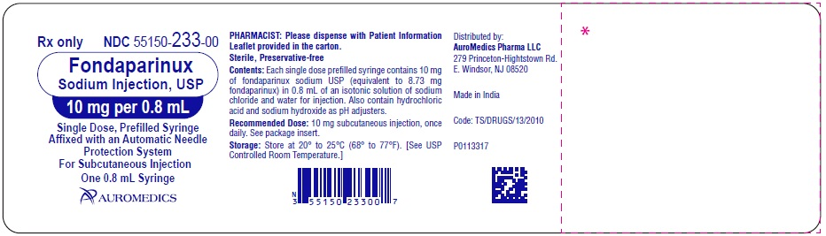 PACKAGE LABEL-PRINCIPAL DISPLAY PANEL – 10 mg per 0.8 mL - Prefilled Syringe Blister Pack Label