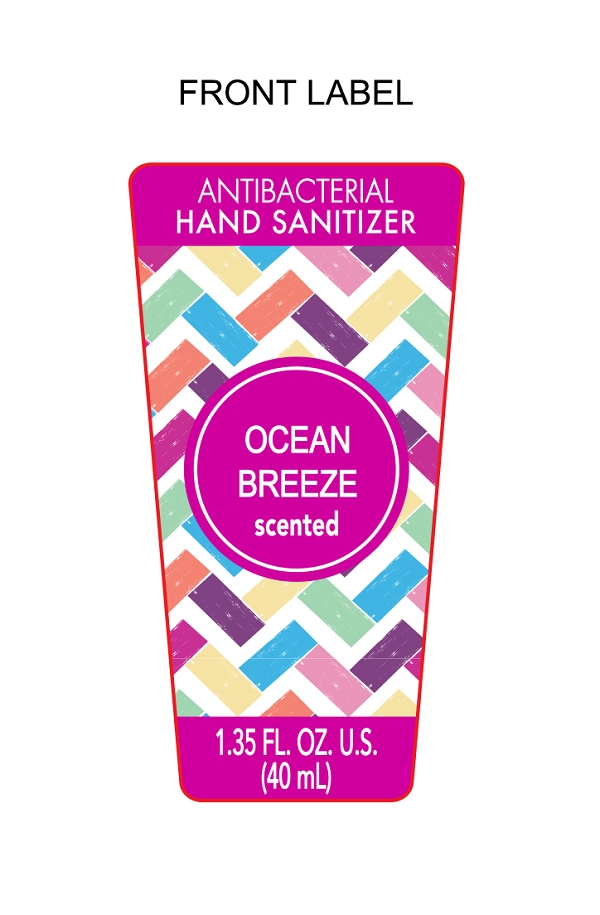 Ocean Breeze Scented Hand Sanitizer   Ethyl Alcohol Gel while Breastfeeding
