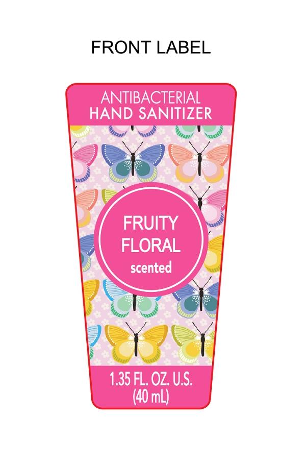 Fruit Floral Scented Hand Sanitizer | Ethyl Alcohol Gel while Breastfeeding
