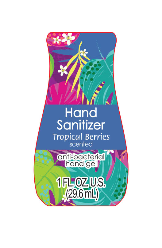 Tropical Berries Scented Hand Sanitizer | Alcohol 62 Ml In 100 Ml while Breastfeeding