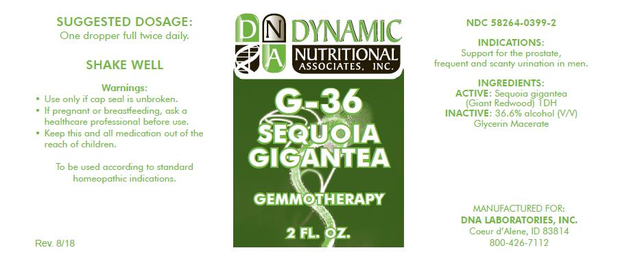 G-36 | Sequoiadendron Giganteum Whole Solution Breastfeeding