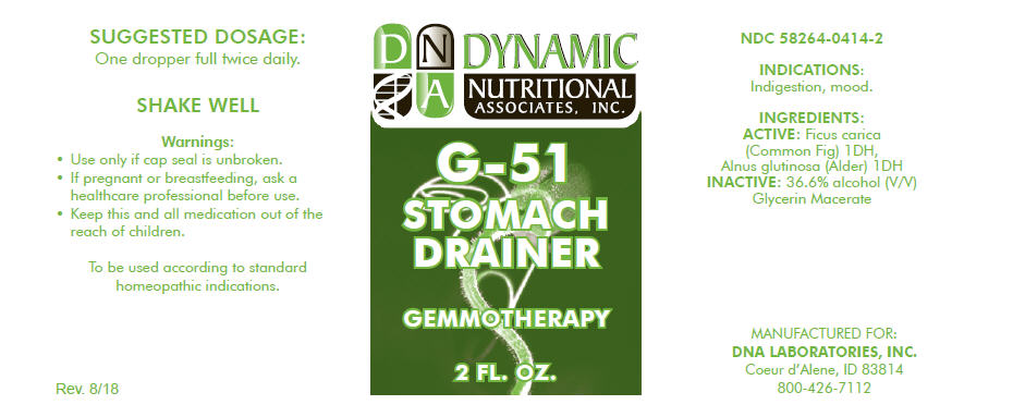 G-51 | Ficus Carica Flower Bud And Alnus Glutinosa Leaf Solution Breastfeeding