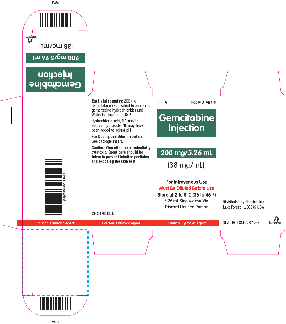 Principal Display Panel - 200 mg/5.26 mL Vial Carton