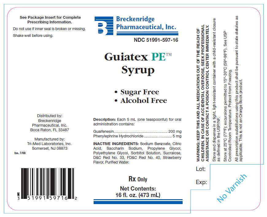 Guiatex Pe | Guaifenesin And Phenylephrine Hydrochloride Liquid safe for breastfeeding