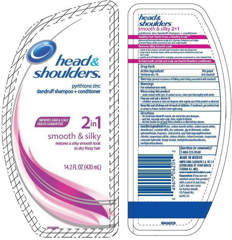 Head And Shoulders 2in1 Smooth And Silky   Pyrithione Zinc Lotion/shampoo while Breastfeeding
