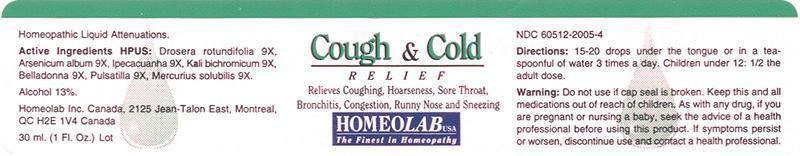 Is Cough And Cold Relief | Drosera Rotundifolia, Arsenicum Album, Ipecacuanha, Kali Bichromicum, Belladonna, Pulsatilla, Mercurius Solubilis Liquid safe while breastfeeding