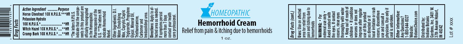 Homeopathic Hemorrhoid | Horse Chestnut, Potassium Hydrate, Witch Hazel, Cramp Bark Cream while Breastfeeding