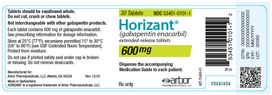 PRINCIPAL DISPLAY PANEL - 600 mg Bottle Label