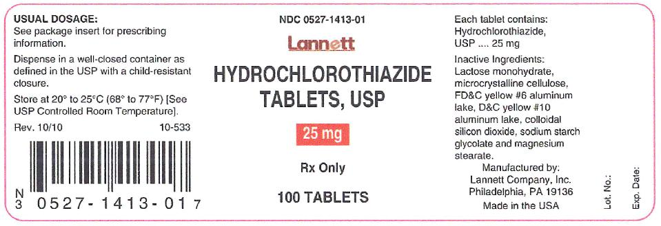 hydrochlorothiazide-25mg-container-label