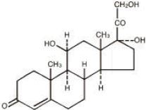 Hydrocortisone - Structure