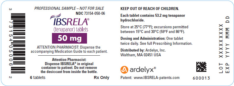 PRINCIPAL DISPLAY PANEL - 50 mg Tablet Bottle Label - 050-06
