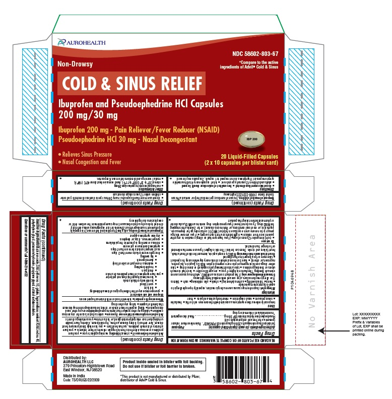 PACKAGE LABEL-PRINCIPAL DISPLAY PANEL - 200 mg/30 mg (20 Liquid-Filled Capsules)