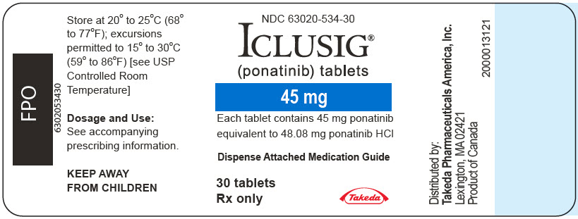PRINCIPAL DISPLAY PANEL - 45 mg Tablet Bottle Label