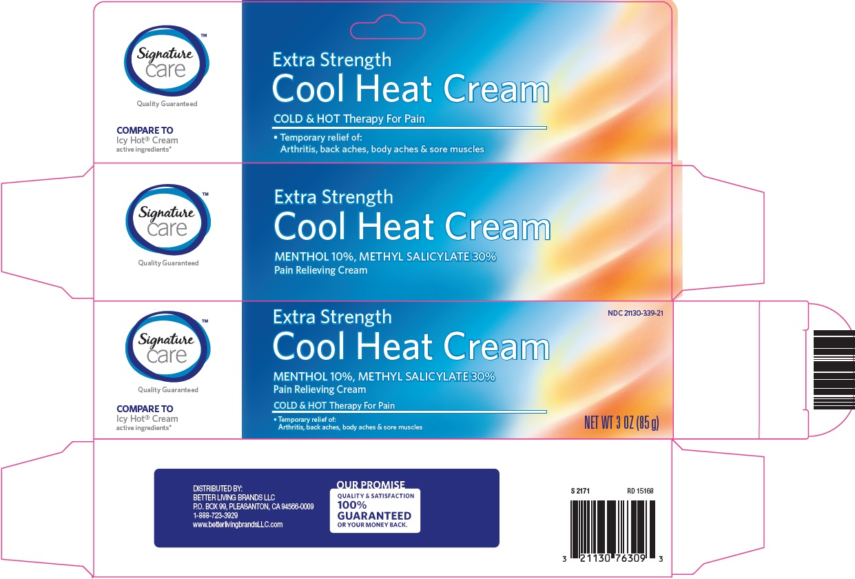 Signature Care Cool Heat Cream image 1