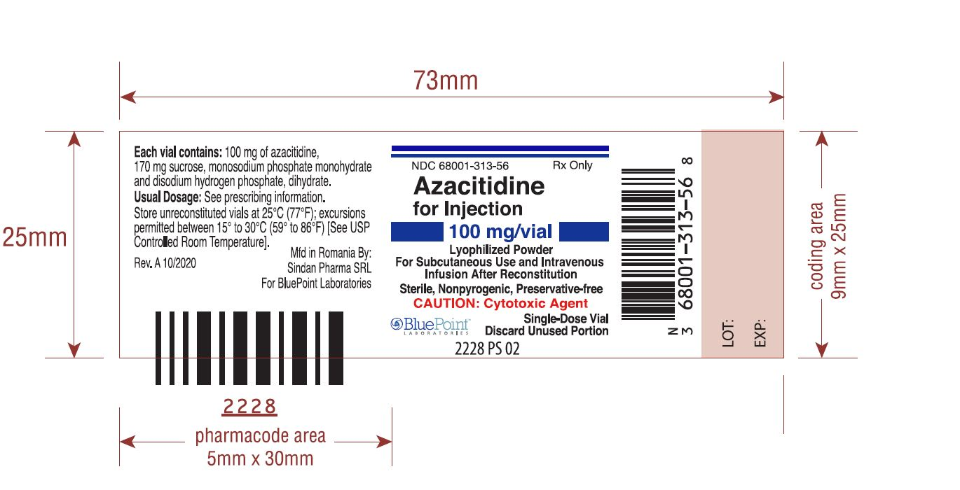 Azacitidine Inj_100mg_Rev 09-16_BluePoint Label - Approved