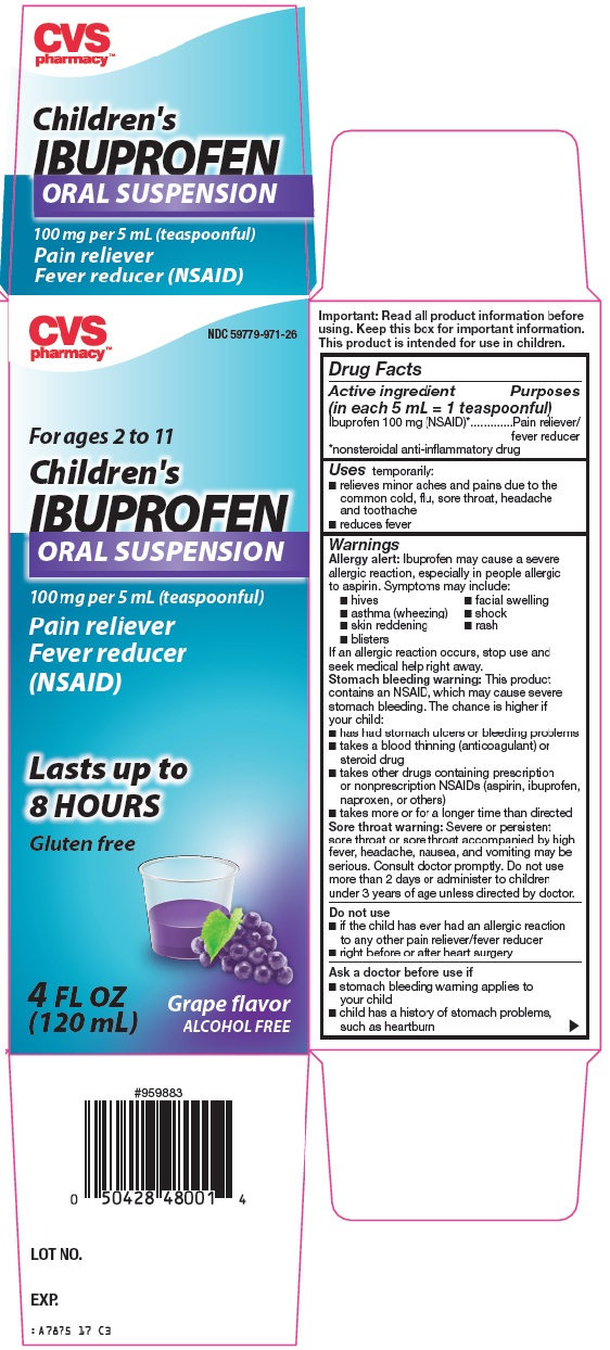 CVS Pharmacy Children's Ibuprofen Image 1