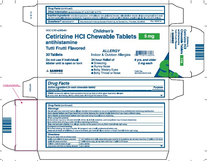 Certrizine HCl Chewable 5mg.JPG