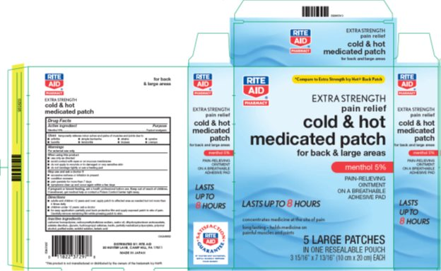 Rite Aid Cold And Hot Medicated | Menthol Patch Breastfeeding