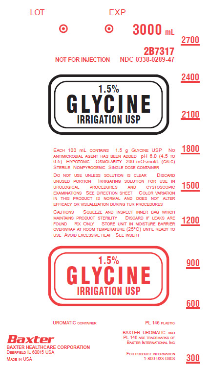 Glycine Representative Container Label